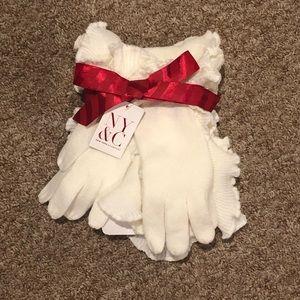 NWT NY&C Scarf and Glove Set